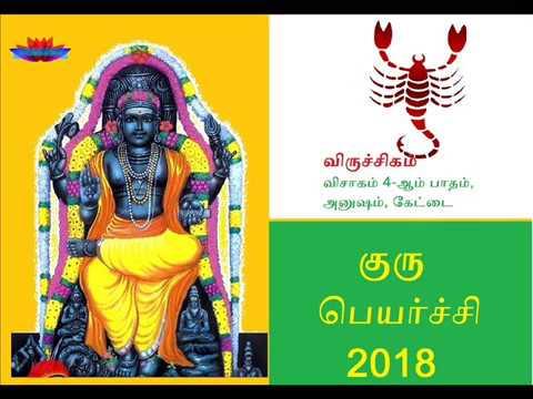 Guru peyarchi 2017-2018 viruchikam Rasi   குரு பெயர்ச்சி 2017-2018  விருச்சிக ராசி