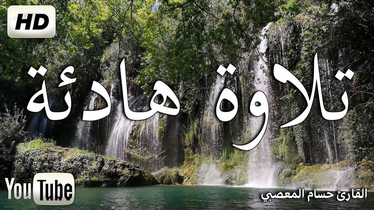 تلاوة هادئة تريح الاعصاب ? قران كريم?  بصوت جميل جدا جدا    سبحان من رزقه هذا الصوت Coran   Quran HD