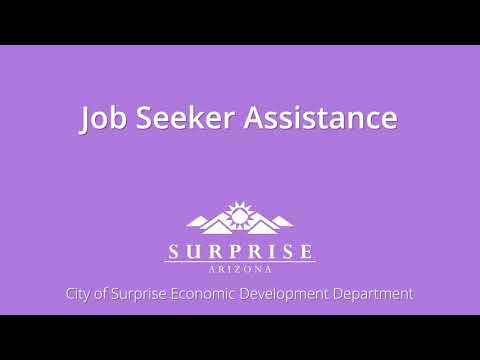 Job Seeker Assistance in Surprise video thumbnail