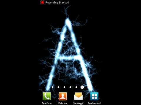 Best Android Live Wallpaper Wallpapers Letter Sfondi Animati