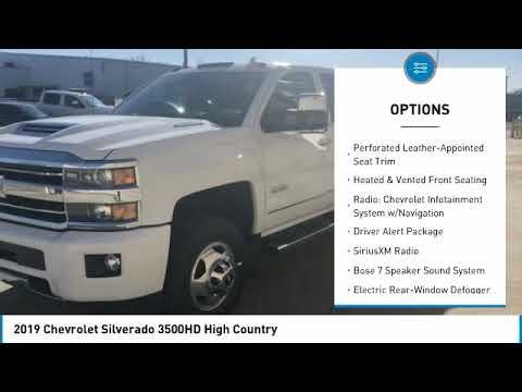 2019 Chevrolet Silverado 3500HD 2019 Chevrolet Silverado 3500HD High Country FOR SALE in Cullman, AL