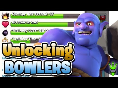 UNLOCKING BOWLERS AND UPGRADING THEM! - Let's Play TH10! - Clash of Clans - TH10 Goblin Farming