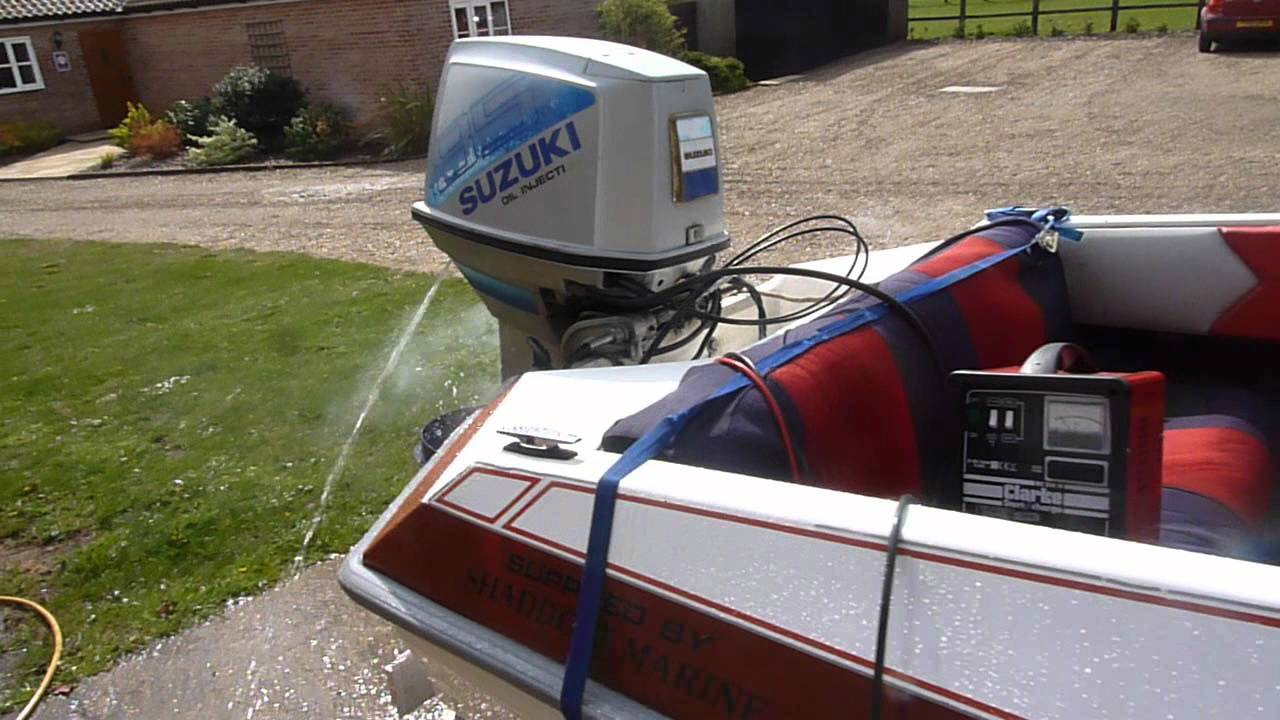Suzuki  Oil Injected Outboard