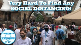 OVERCROWDED & LITTLE SOCIAL DISTANCING!? Universal Studios Reopening! Did We Feel Safe At All?