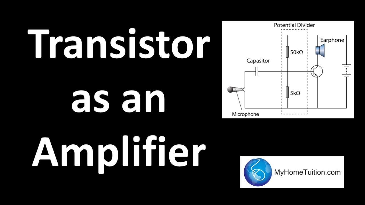 Transistor As An Amplifier Electronics Youtube Design Guidelines For Bipolar Audio Preamplifier Circuits
