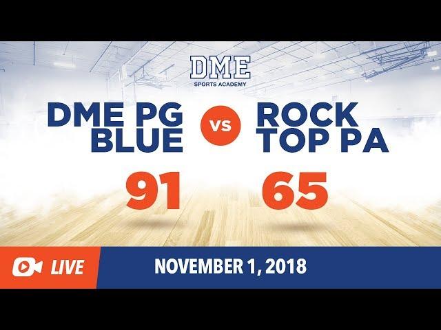DME PG BLUE VS ROCKTOP ACADEMY