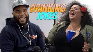 Dad Jokes | Kanisha vs. Reedo (Drinking Jokes)