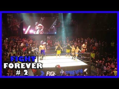 """Wrestling Superstar """"Fight Forever"""" - Sons Of Samoa vs Robbie E & Ariel Levy vs Supernatural"""