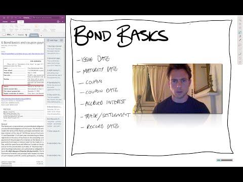 ep4: Bond basics - principal, coupon, accrued interest, daycount, sample prospectus