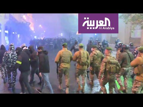 إجراءات أمنية مكثفة وسط بيروت بعد مواجهات مع المتظاهرين  - 22:59-2020 / 1 / 19