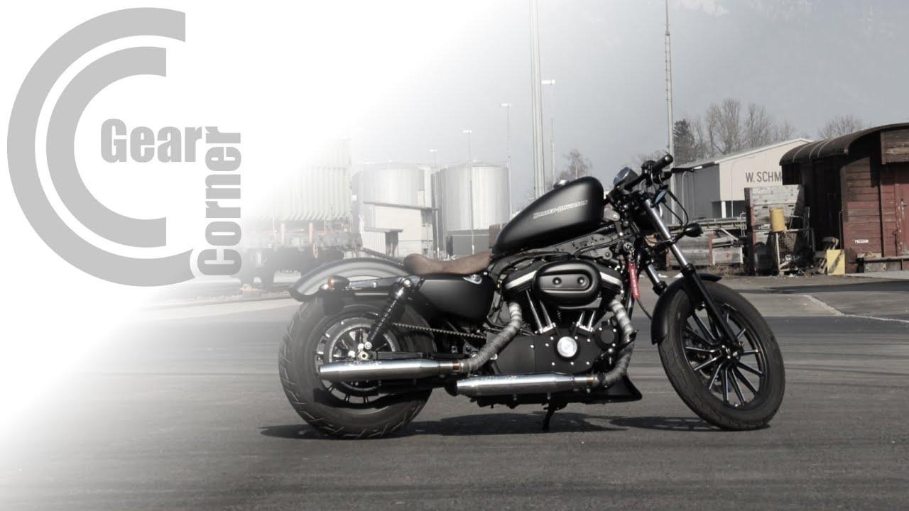 Harley Davidson Sportster Iron 883 166 Custom Bobber