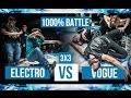 Electro vs. Vogue • 1000% Battle • Move&Prove International 8
