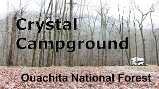FREE Camping Crystal Campġound Ouachita National Forest