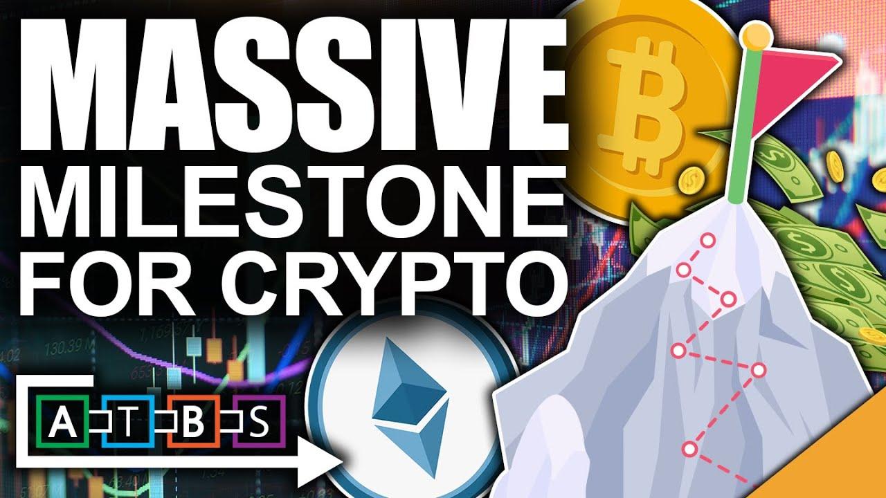 Massive Milestone For Crypto Acceptance (Bitcoin Rockets To The Mainstream)