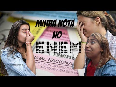 Enem: MINHA NOTA NO ENEM (ProUni)