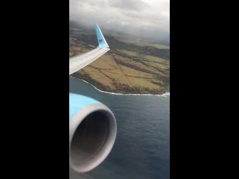 Departing Lihue, Hawaii.