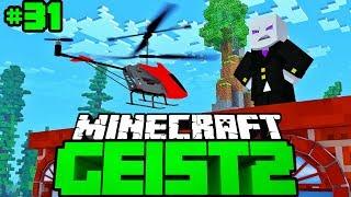 MIT HELIKOPTER NACHBAR AUSSPÄHEN?! - Minecraft Geist 2 #31 [Deutsch/HD]