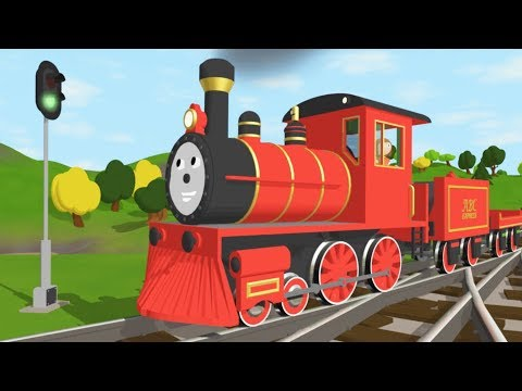 Thumbnail: The Alphabet Adventure With Alice and Shawn the Train - FULL CARTOON - (Learn letters and words)