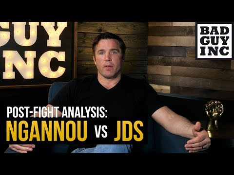 Francis Ngannou vs Junior dos Santos: Here's what happened...