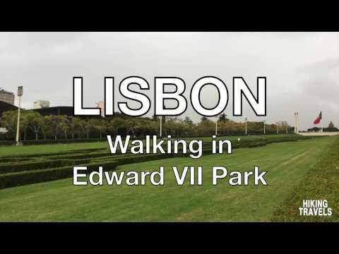 LISBON - Walking in Edward VII Park