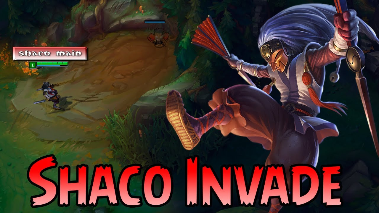 Shaco Invade Guide S7 L League Of Legends L #8