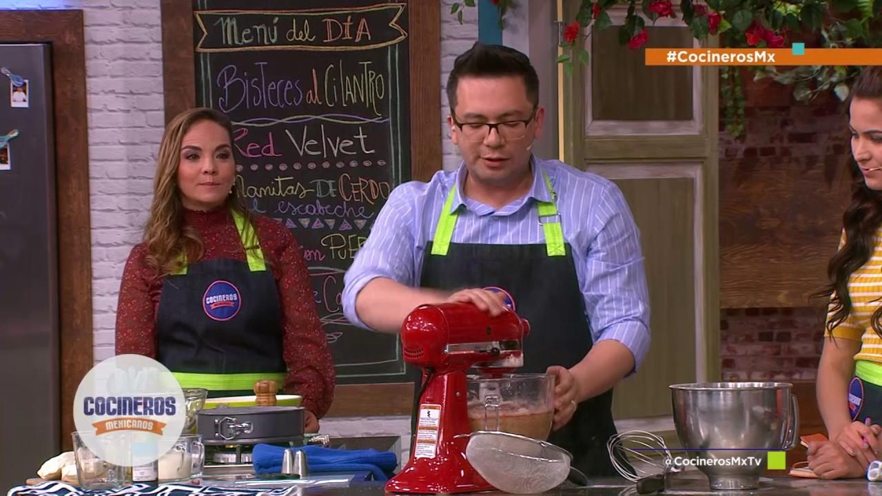 Receta: Red Velvet | Cocineros Mexicanos