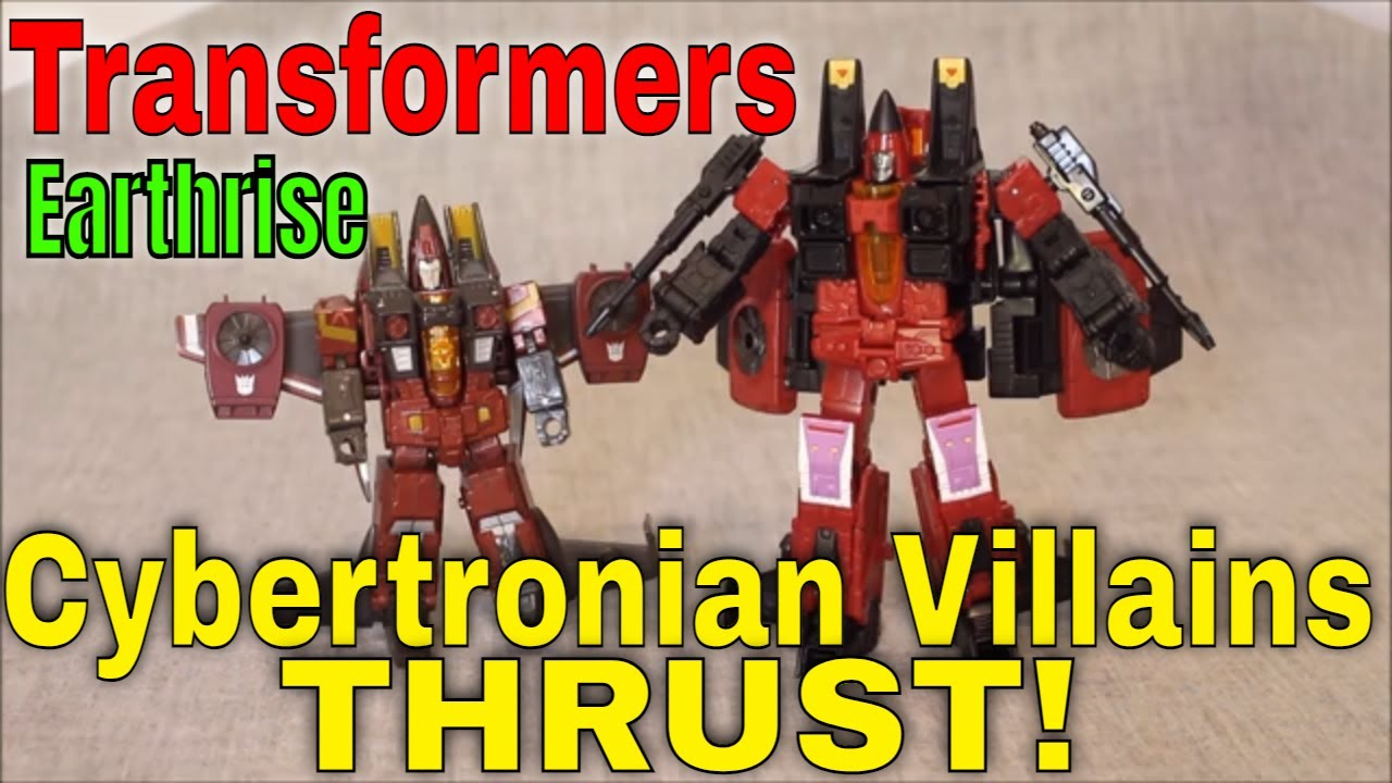 Hmm..Seeker Elite?: Earthrise Cybertronian Villains Thrust! Review by GotBot