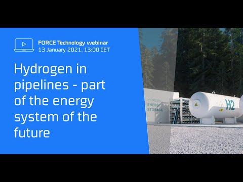 Hydrogen in pipelines (online workshop)