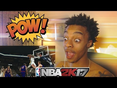 Flight Reacts To NBA 2K17 Momentous Gameplay Trailer!