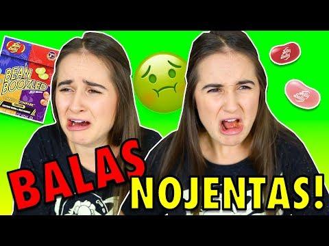DESAFIO BALAS NOJENTAS! 🤢 (JELLY BELLY) TROLLEI A PUPI NO FINAL!