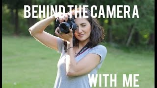 Photoshoots - Behind The Camera With Me!