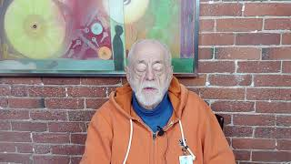 A special holiday message from Harry at the Boston Living Center