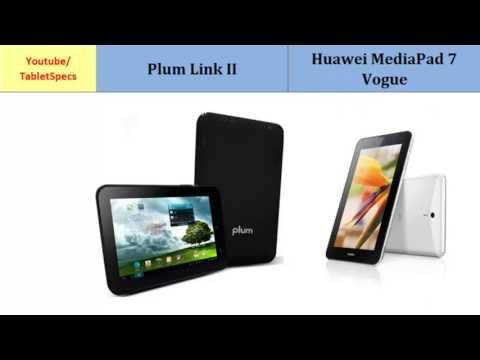 Plum Link II and Huawei MediaPad 7 Vogue, Detailed Look