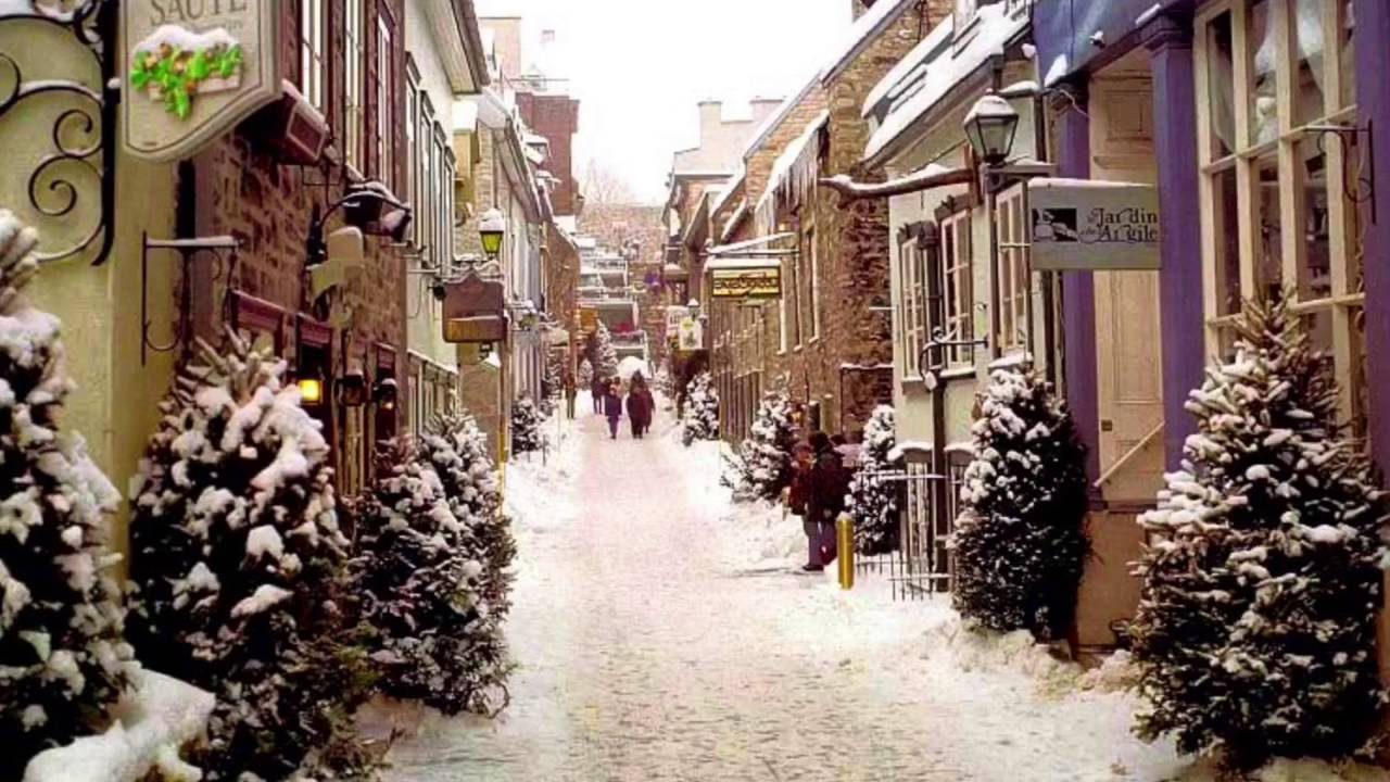 Quebec City Between Christmas And New Years