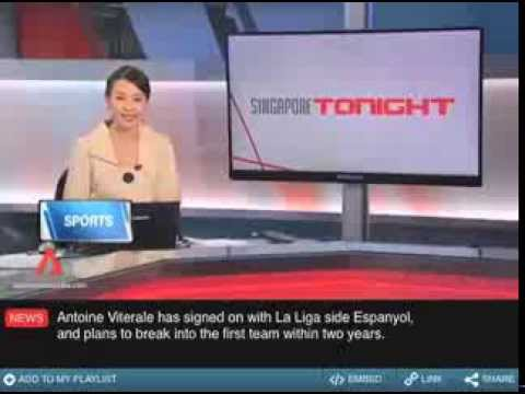 Soccer Star signs for RCD Espanyol Channel News Asia