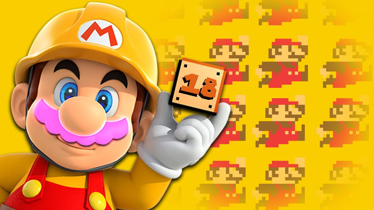 100 MARIO CHALLENGE | Mario Maker #18