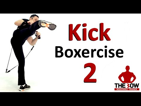 BOW Kick-Boxercise Lesson 2.  Kick Boxing Training with Coach Ali
