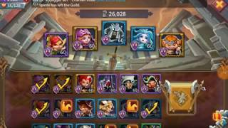 Lords Mobile- 8-18 Elite Hero Chapter