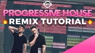 How To Make a Progressive House REMIX    FL Studio 20 Tutorial