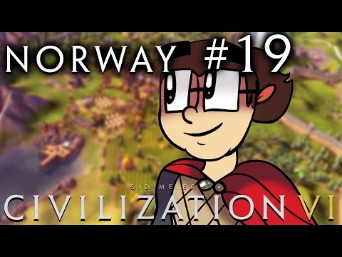 Civilization VI [Six!!] - Norway: Religious Vikings! - Part 19