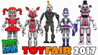Five Nights at Freddy's FNAF FUNKO Articulated 5inch Series 3 Action Figures Set TOY FAIR 2017 News