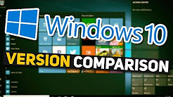 WHICH VERSION? Windows 10 Home vs. Pro vs. Education Comparison