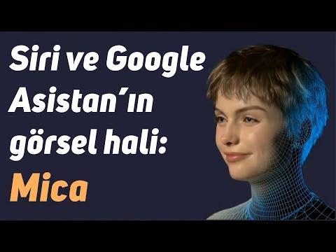 Siri ve Google Asistan'ın görsel hali: Mica