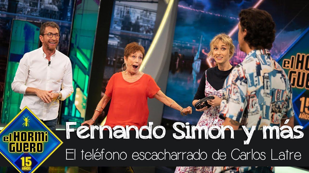 Fernando Simón, Salvador Illa y más en el 'Teléfono escacharrado' de Carlos Latre - El Hormiguero