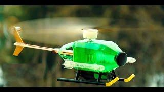 Cara Membuat Helikopter Dari Botol Bekas