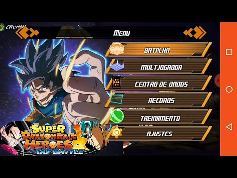 DOWNLOAD NEW Dragon Ball Heroes Tap Battle Mod Apk For Android