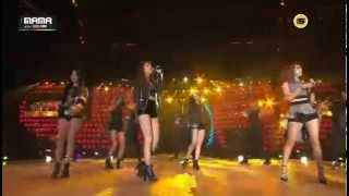 141203 Girl's Day & Ailee 'Problem' @ 2014 Mnet Asian Music Awards