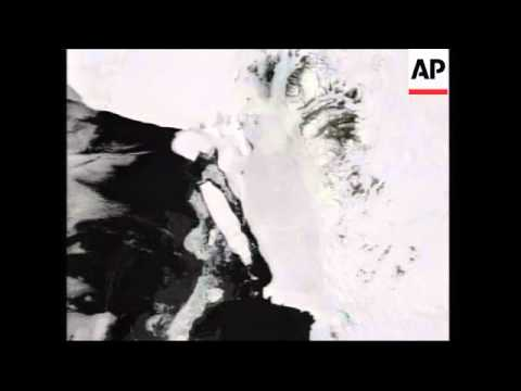 NASA satellite pictures of iceberg off Antarctica