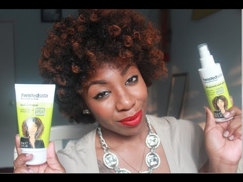 Review Twisted Sista Curl Activator Creme 30 Second