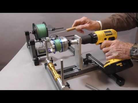 Reel Winder With Motor, Line Winder
